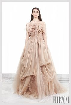 """Krikor Jabotian """"The girl from the temple"""", S/S 2012 - Couture"""