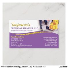 Professional Cleaning, Professional Business Cards, Janitorial Cleaning Services, Cleaning Mops, Residential Cleaning, Cleaning Business Cards, Business Supplies, Housekeeping, Clean House