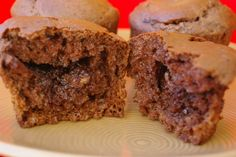 Chocolate and Nutella Surprise Muffins