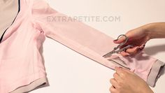 DIY Alterations Tutorial: Slimming + shortening blazer jacket sleeves with lining - Extra Petite Sewing Hacks, Sewing Tutorials, Sewing Crafts, Sewing Projects, Sewing Patterns, Sewing Tips, Vintage Patterns, Sewing Ideas, Techniques Couture