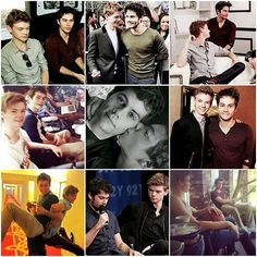 I JUST DIED WHEN I SAW THE PICTURE WHERE THOMAS KISSED DYLAN! I SHIP THEMMMMMMMMM!