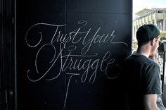 Typeverything.com Trust Your Struggle - Typeverything