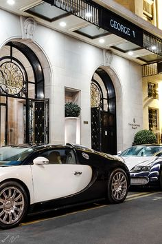 George V in Paris #Bugatti ~ Colette Le Mason @}-,-;—-