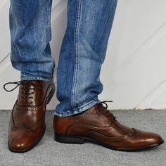 Elegant men's shoes  €32,99 http://mymenfashion.com/elegant-men-s-shoes-brown.html