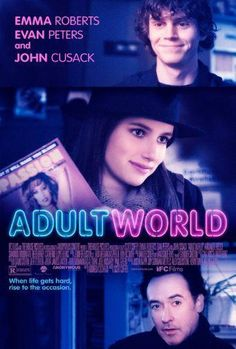 Adult World poster Metal Sign Wall Art 8in x 12in