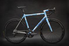 bikeplanet:  Festka Asphalt Pablo Titanium  Frame designed for...