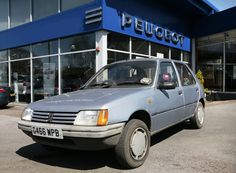 Peugeot 205 goes more than the extra mile after clocking up over 338,000