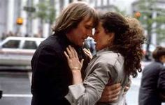 Green Card- Gerard Depardieu and Andie MacDowell, an ODD COUPLE that works.
