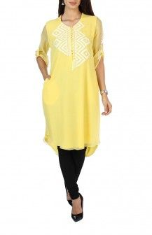 Geometric PrintTunic By Varun And Nidhika Rs 9451