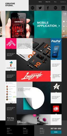 Theme_ Creative Studio on Web Design Served