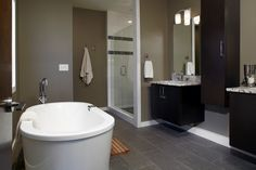 Contemporary Master Bathroom - Come find more on Zillow Digs!