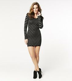 Stripe a pose in this directional stripe sweater! It features a super sexy fit with a print that will turn heads! #wishlist