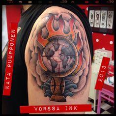 https://www.facebook.com/VorssaInk, http://tattoosbykata.blogspot.fi, #tattoo #tatuointi #katapuupponen #vorssaink #forssa #finland #traditionaltattoo #oldschool