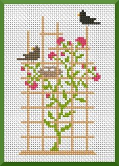 Free French cross stitch