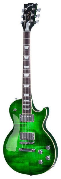 "Gibson Les Paul Classic HP 2017 GOB - Obviously for ""Green Over-Board"", finish: green ocean"