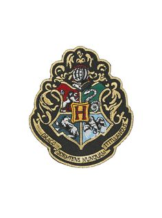 Harry Potter Hogwarts Crest Iron-On Patch | Hot Topic