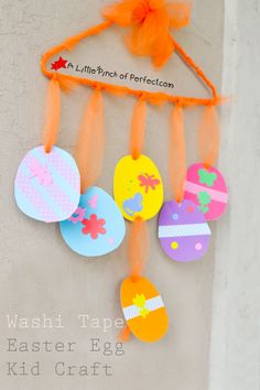 Washi Tape Easter Eg