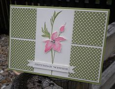 Very pretty card for many occasions.