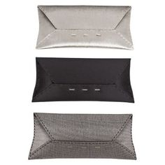 """Envelope Clutches are so HOT right now...shameless promo: Post-'s """"Brava"""" envelopes are so yummy...check in on our FB Fan page (Post- Accessories) for their debut this coming week..."""