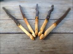 Heaven Spun Creations is please to present a new line of hand carved crochet hook sets. This listing is for a set of 5 hand carved crochet Wooden Crochet Hooks, Yarn Organization, Crochet Supplies, String Crafts, Crochet Hook Set, Fabric Yarn, Whittling, Knitting Accessories, Sewing Notions