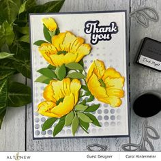 New Crafts, Paper Crafts, Altenew Cards, Flower Center, Buttercup, Stamping Up, Flower Cards, Happy Mothers, Designer