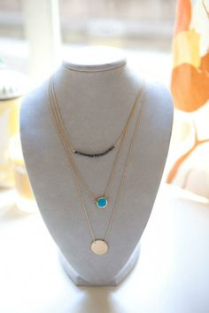 Stella and Dot necklaces - love the layered look and circle necklace!!!