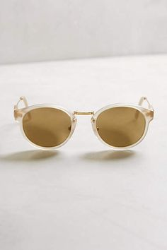 bbce38bd90 Super Panama Clear Sunglasses - anthropologie.com  anthrofave Clear  Sunglasses