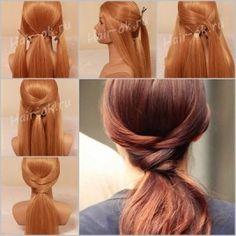 DIY Gossip Girl Braid Hairstyle