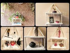 DIY: Estantería de carton - YouTube Shelves made of cardboard