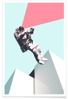 Out of This World - Maarten Léon - Premium Poster