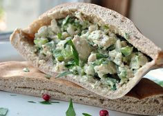 Gojee - Tarragon and Pink Peppercorn Chicken Salad by My Life Runs on Food