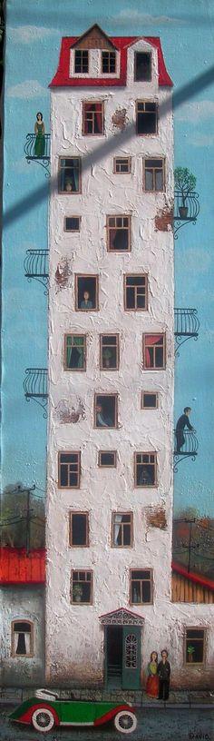 Ощущение праздника в ярких картинах Давида Мартиашвили