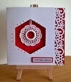 Paper and crochet at Christmas