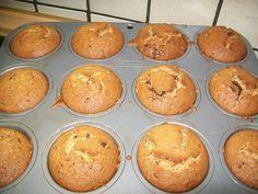 Ricette Gruppo Sanguigno: Muffin con nocciole e cioccolato, senza glutine