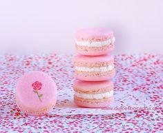 Dulces bocados: Macarons rosas