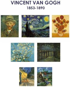 And impressionism as a learning center activity on bulletin boards
