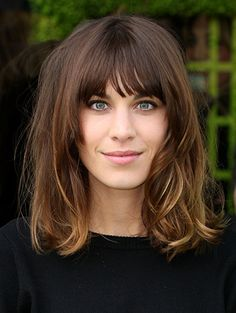 thinking...my next haircut!(Hair Bob Fringe)