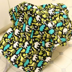 Car seat cover #sewing #for_baby