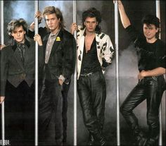Duran Duran- leather pants...when worn by hot British men, they kill! They Kill!