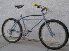 twin top tube klunker bike - Google Search