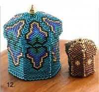 beaded peacock pattern | NJBG - Past Classes - Naturally Jennifer's Beads and Gallery