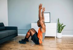Hip Bridge Sit-Up #resistance #band #exercises http://greatist.com/move/resistance-band-exercises-to-do-on-vacation