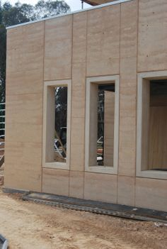ground up earth builders aust - Clarissa Home Rammed Earth Homes, Rammed Earth Wall, Sustainable Architecture, Architecture Details, Pavilion Architecture, Residential Architecture, Contemporary Architecture, Building Green Homes, Building A House