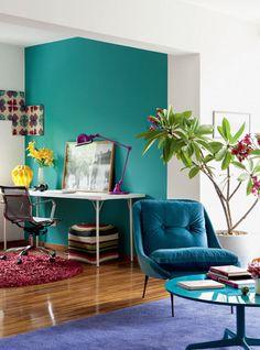 #misturadecores #decoraçao #decor #poltrona #cores #azul #azulturquesa #detalhes #decoração