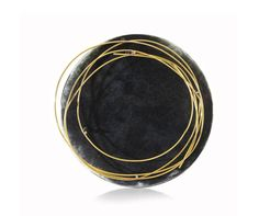 Gigi Mariani Brooch Title: Thoughts Materials: Silver, 18kt yellow gold, enamel, patina