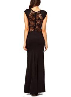 Women's Lady Sexy Lace Back and Fishtail Maxi Dress Cocktail Evening Dress Wow Shop,http://www.amazon.com/dp/B00EZMLP1C/ref=cm_sw_r_pi_dp_reRGsb0T0KEJM3M3