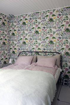 Uuden makuuhuoneen sisustus