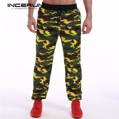 288a0019fd Men Camouflage Pants 2018 Brand Clothing Mens Sportswear Track Pants Casual  Baggyeosewe
