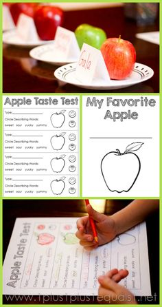 1+1+1=1...Fall Fun Activities with Apples, Leaves, and Pumpkins