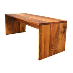 reclaimed chestnut from Amish barns...